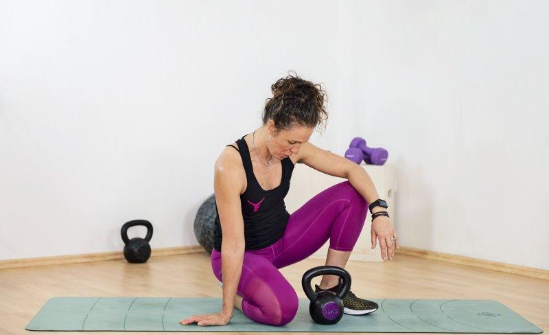 Home Workout mit der Kettlebell