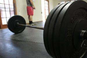 Hantelstange zum Fitness training
