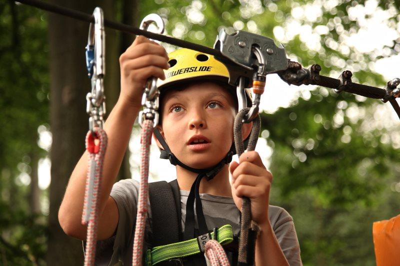 Klettersteigset für Kinder und Anfänger