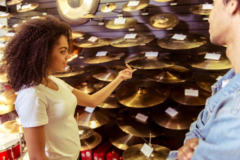Schlagzeug Becken im Fachhandel kaufen