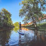 SUP Tour auf Fluss