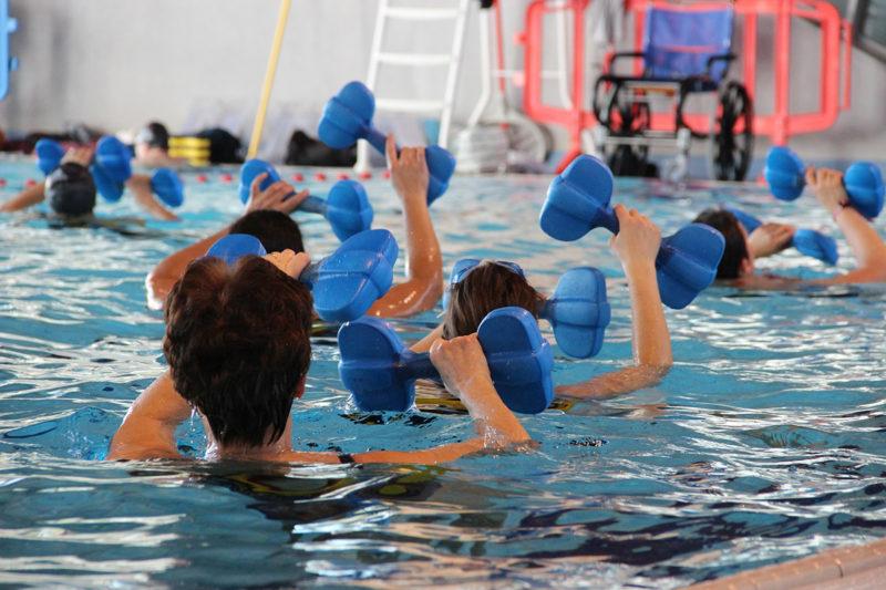 Schwimmgürtel beim Reha-Sport im Test