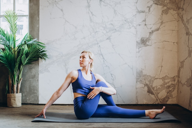 Yoga Übung: Twist