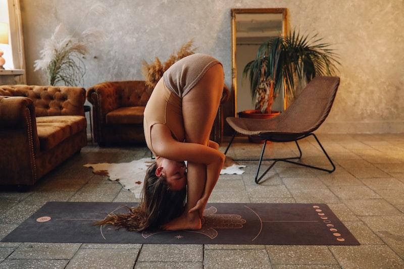 Yoga Übung: Vorwärtsbeuge