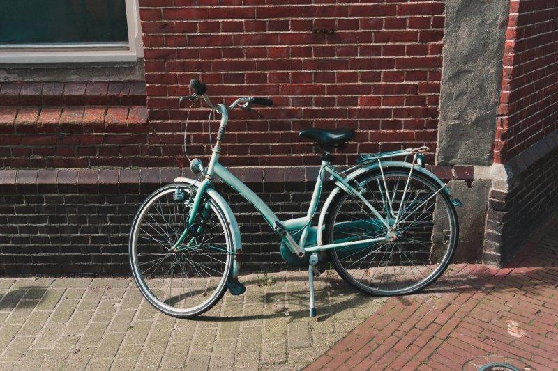 Fahrradständer mit Gummifuß