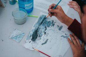 Acrylmalerei Techniken und Tipps