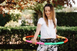 Hula Hoop Reifen für die Fitness