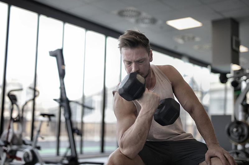 Weight Gaining mit Fitnesstraining