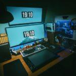 Mehrere Gaming Monitore und ein Gaming Set-up