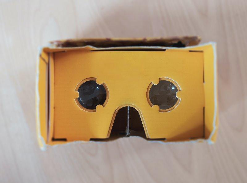 VR Brille aus Papier im Test