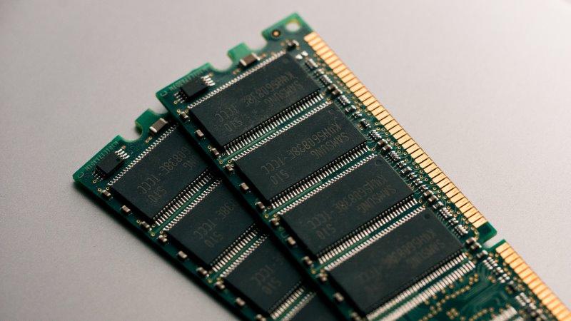 Arbeitsspeicher auch RAM genannt