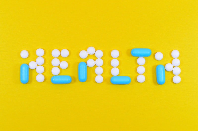 "Vitamin D3-Tabletten als ""Health"" angeordnet"