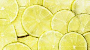 Frische Zitronen mit Vitamin C