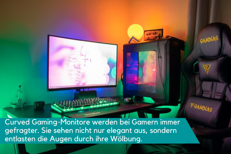 Curved Gaming-Monitor