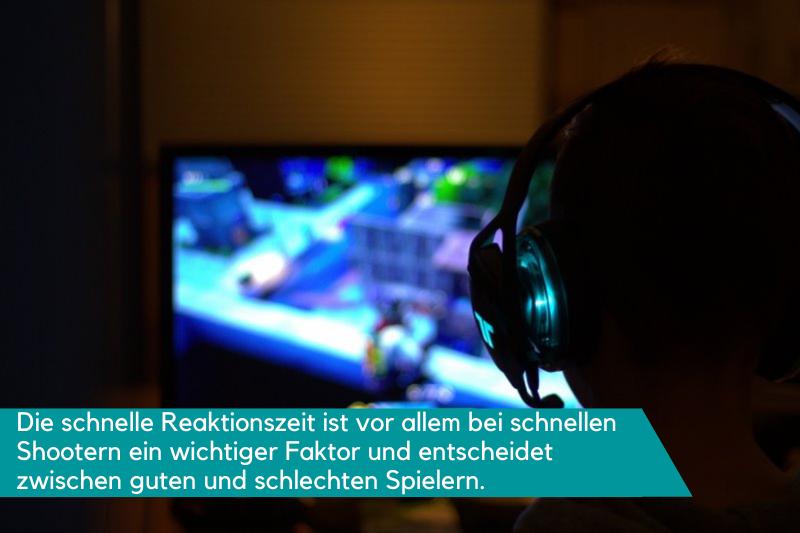 Fortnite auf Gaming-Monitor