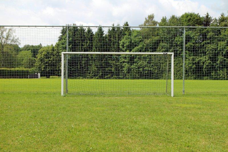 Fußballtor aus Aluminium