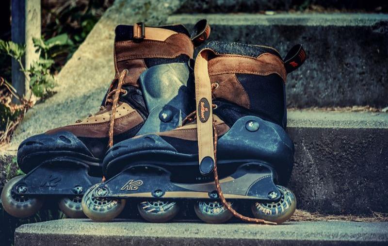 Aggressive Skates ist eine Extremsportart.