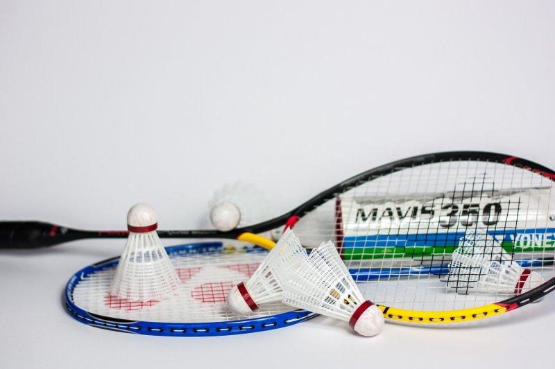 Badmintonschlägerset