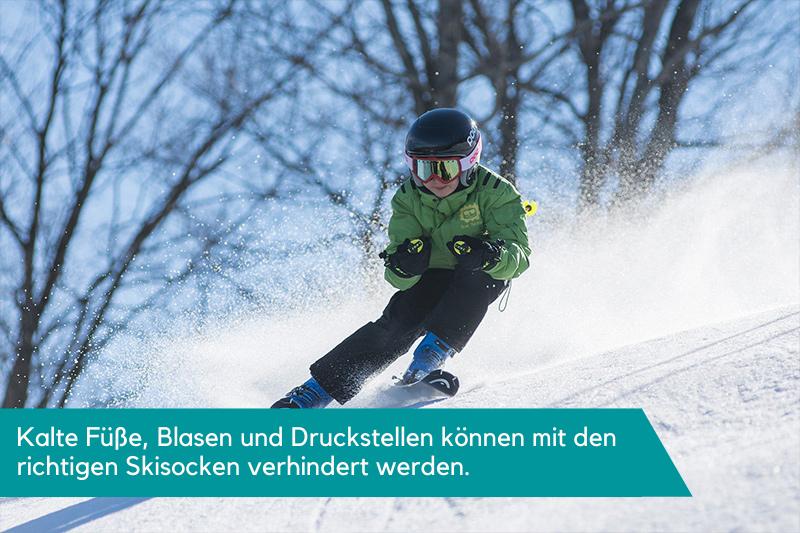 Skisocken für Kinder