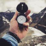Foto eines Kompasses