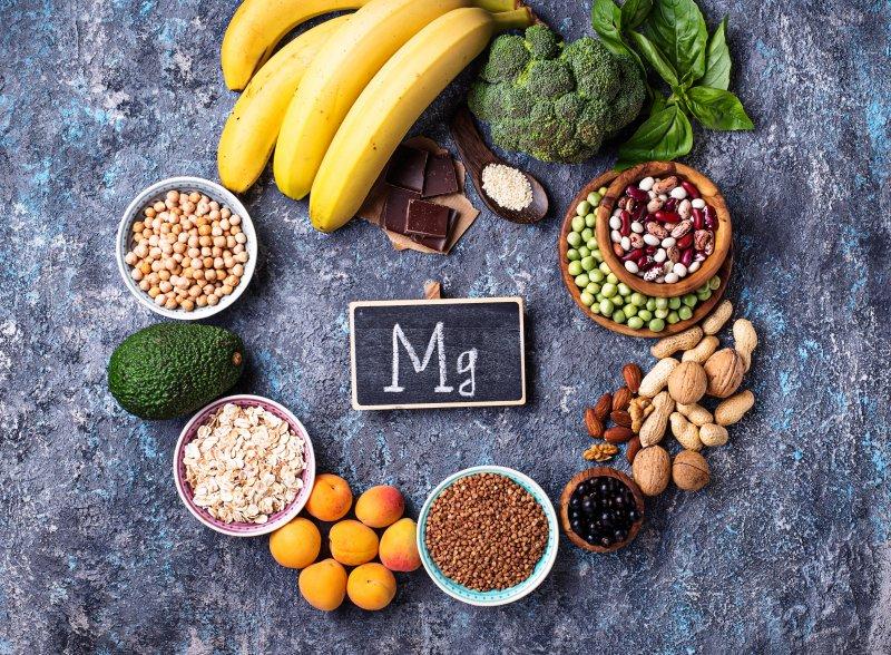 Reiche Magnesiumquellen in Form von Lebensmitteln