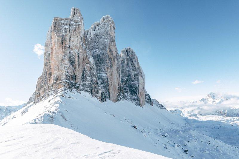 Magnesiumverbindung in den Dolomiten in Italien