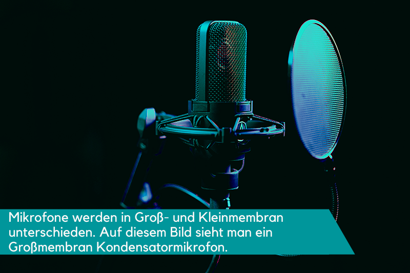 Großmembran Kondensator Mikrofon