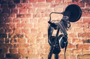 Mikrofonständer mit Zubehör