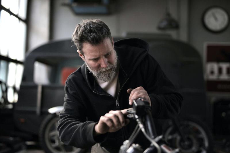 Installation einer Motorrad Alarmanlage