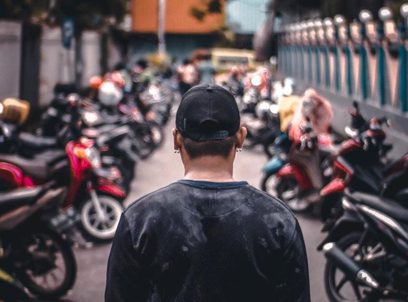 Motorrad Alarmanlage hält Diebe fern