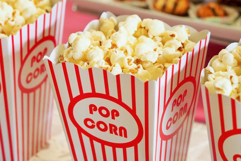 Hier sieht man Popcorn