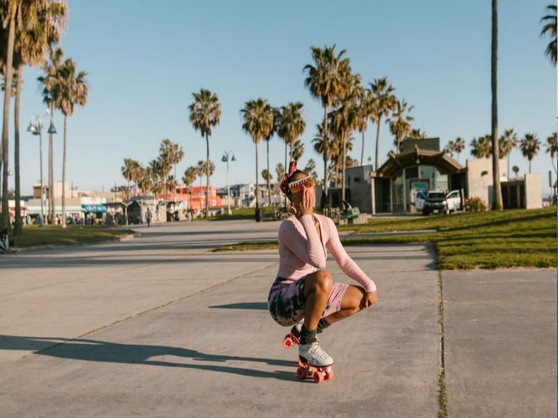 Rollerblades als Alternative zu aggressive Skates
