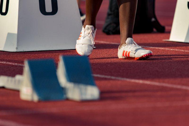 Trainingsschuhe für Leichtathletik mit Spikes