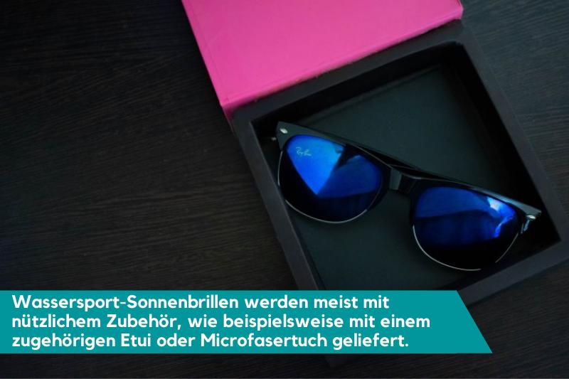 Wassersport-Sonnenbrille im Etui
