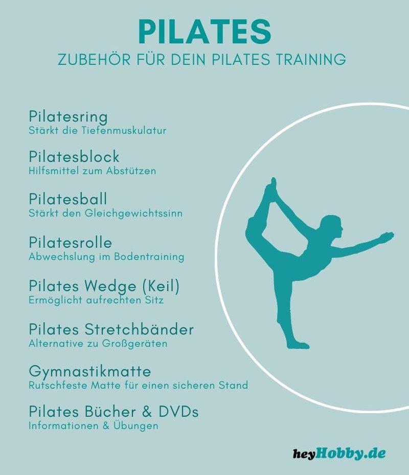 Zubehör für Pilates und den Pilatesring