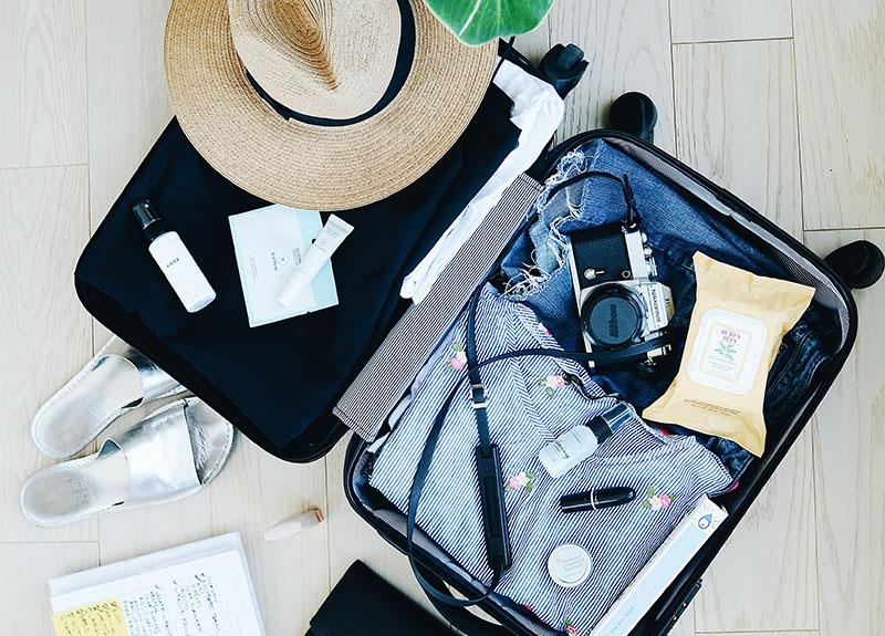 Sachen für den Reisenalltag im 2-Wochen-Urlaub