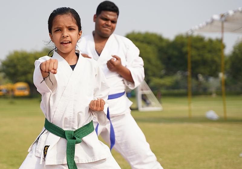 Kinder Karatetraining