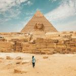 Ägypten Pyramide und Sphinx von Gizeh