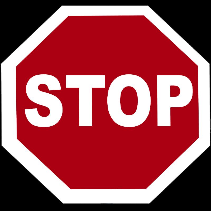 Foto eines Stopschilds