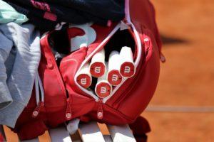 Das muss in die Tennistasche