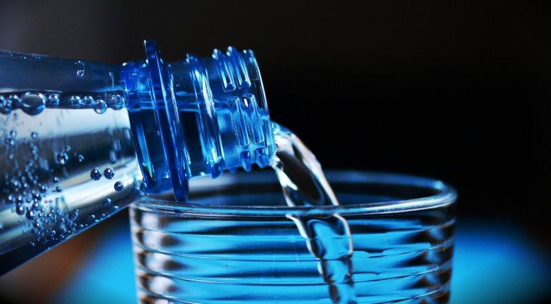Wasserbehaelter für den Notfallrucksack