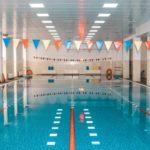 Schwimmbad von innen