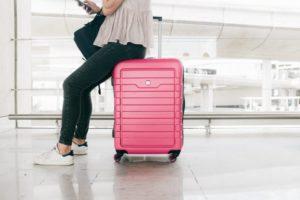 Koffer für den Urlaub packen