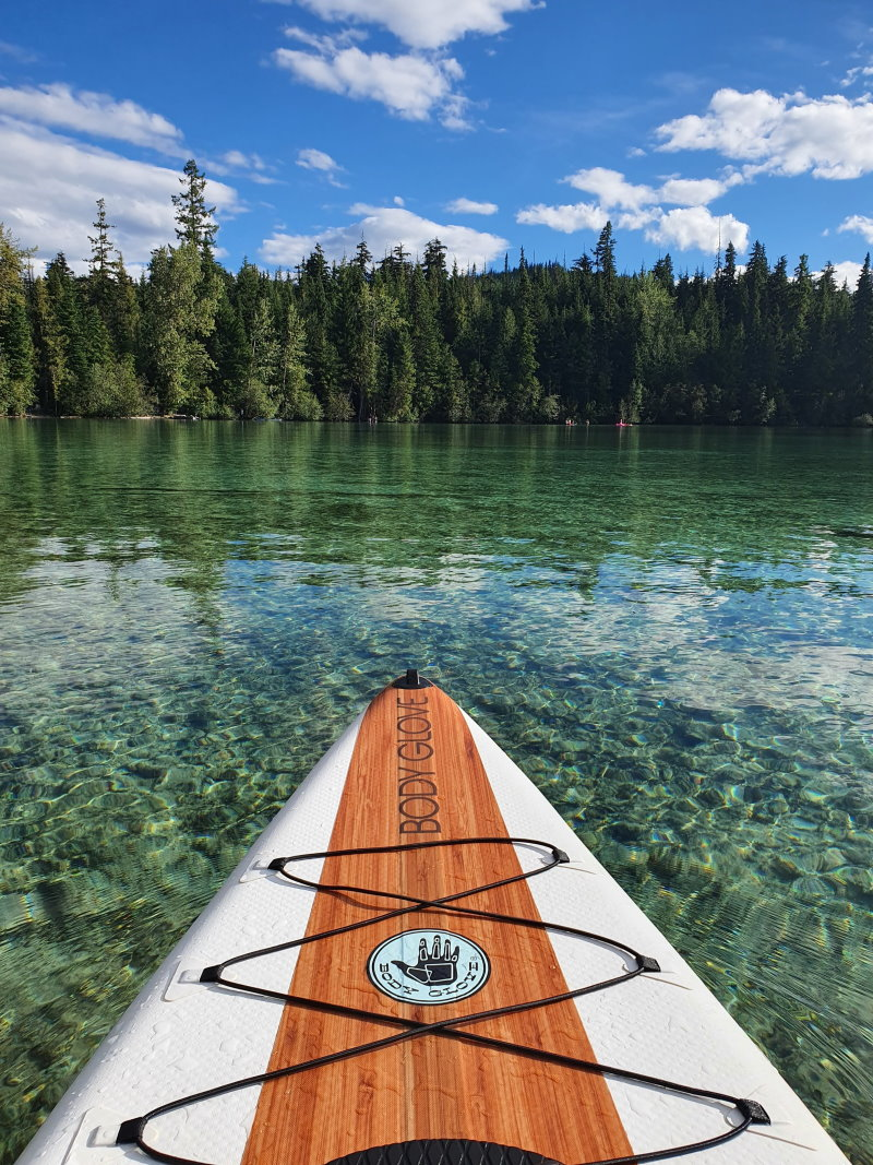 stand up paddling see gewässer