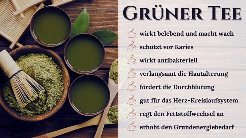 Mit Grünen Tee abnehmen