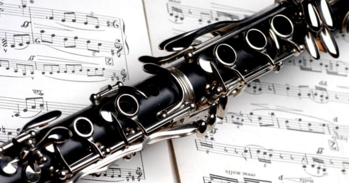 Klarinette-auf-Noten
