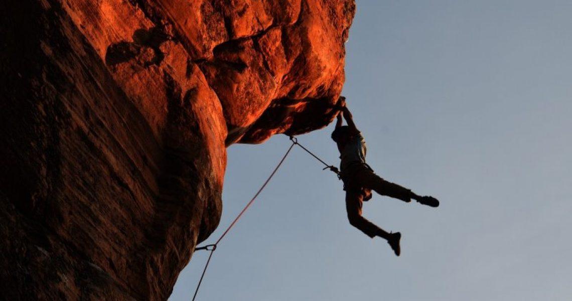 Aufbewahrung für Kletterseile