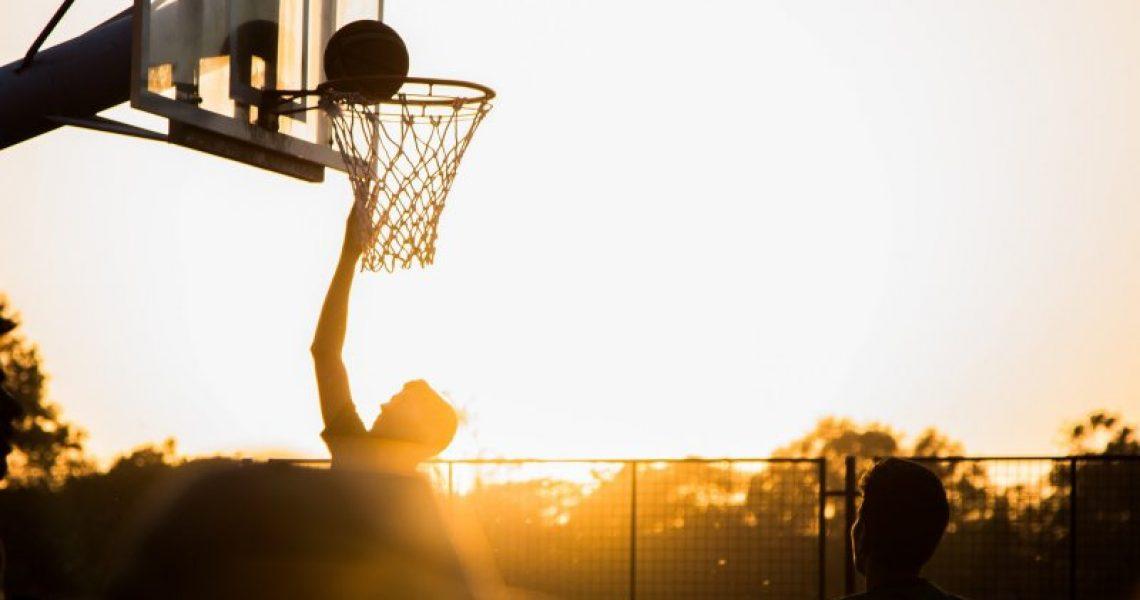 basketball-outdoor-sonnenuntergang