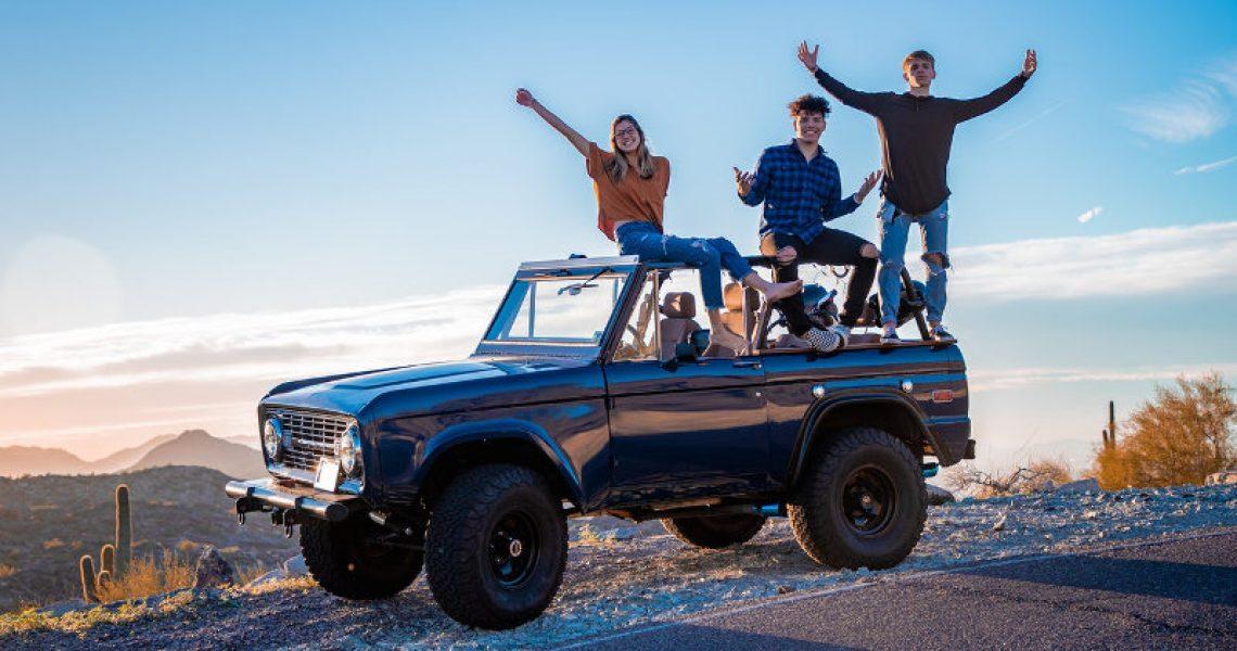 Roadtrip mit Freunden