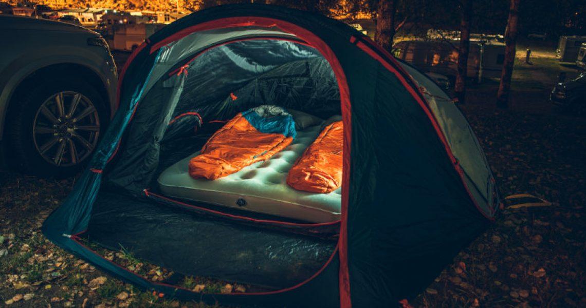 Kunstfaserschlafsack im Test
